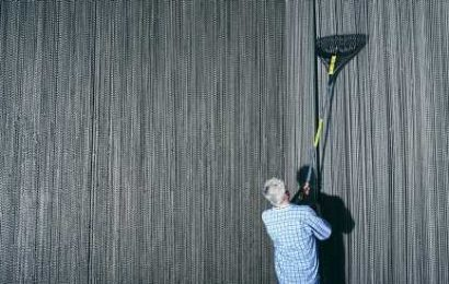 Building David Byrne's 'Utopia,' One Gray Suit at a Time