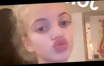 Katie Price's daughter Princess looks spitting image of her with huge lips