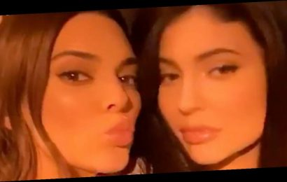 Kendall and Kylie Jenner reunite for rare selfie as they enjoy girls night