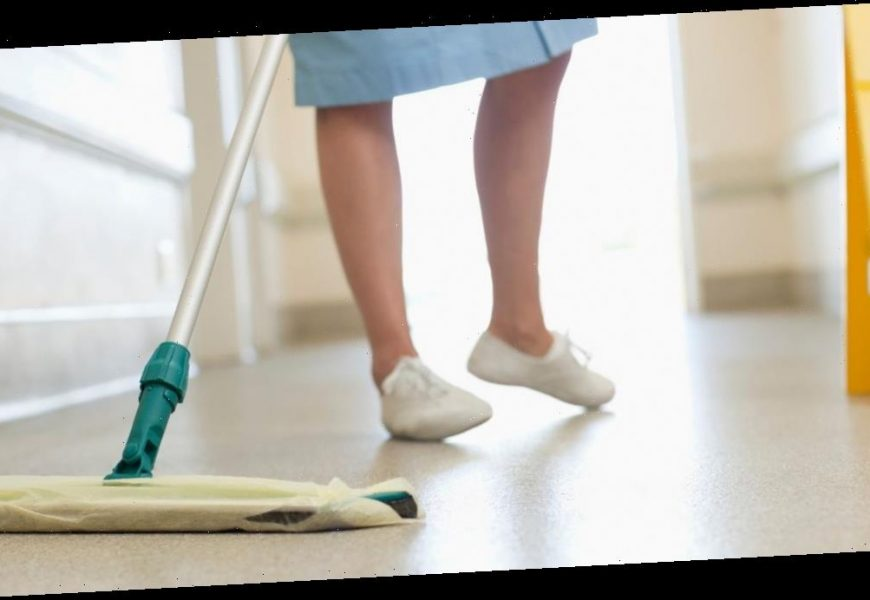 Low-paid NHS cleaners denied sick pay rights and forced to work while ill