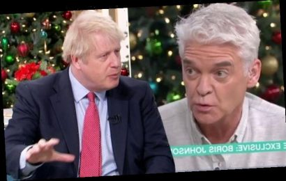 'Absolute nonsense' Boris Johnson shuts down Phillip Schofield over NHS 'Not on the table'