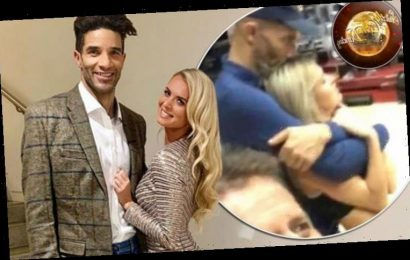 Nadiya Bychkova and David James: Strictly curse strike again? Stars caught in cosy embrace