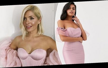 Holly Willoughby dresses: Where to get her stunning Dancing on Ice gowns for less
