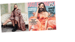 Jonathan Van Ness Is Serving Pure, Gorgeous Joy on Cosmopolitan UK's Cover