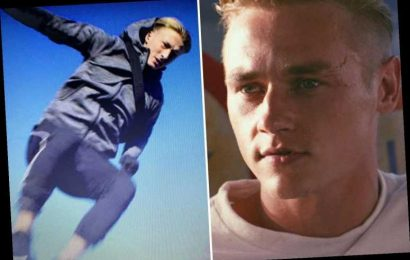 Netflix fans slam 'obvious' Ben Hardy stunt double in 6 Underground as full shots of face make it into movie – The Sun