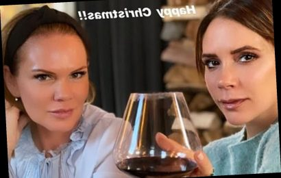 Victoria Beckham enjoys boozy day with lookalike sister Louise as family continue Christmas celebrations
