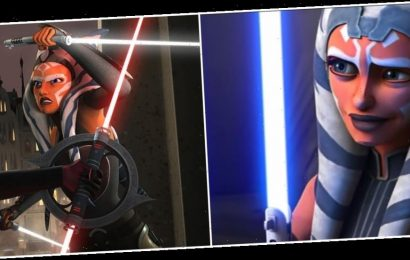 Here's Why Ahsoka's Lightsabers Look Different in 'The Clone Wars' Season 7 and 'Star Wars Rebels'