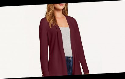 Limited Time! This Dressy Cardigan Is 40% Off in Multiple Colors