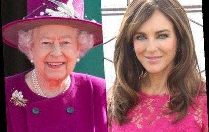 Elizabeth Hurley Claims She & Queen Elizabeth II Have the Same Stalker