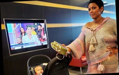Tamron Hall's luxe airport style is colorful and comfortable
