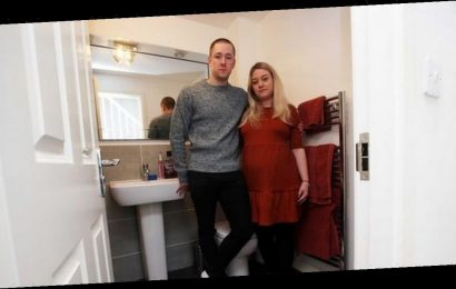 Couple's two-year frustration at 'building errors' on 'dream' three-bed home