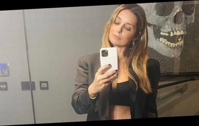 Louise Redknapp wows in bra as she admits she still calls ex Jamie 'husband'