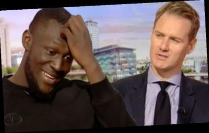 Stormzy leaves BBC Breakfast viewers and host Dan Walker distracted: 'I feel for him'