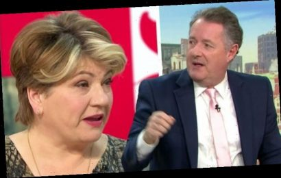 'You're a millionaire!' Piers Morgan grills Emily Thornberry on Labour 'sneering' at rich