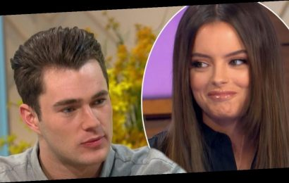 Curtis Pritchard breaks silence on claims he cheated on Maura Higgins after video emerges with mystery brunette
