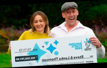 EuroMillions winner who won £105million still works as builder two months later
