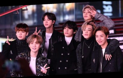 Ariana Grande hints K-pop stars BTS are secret Grammys headliners in cute snap