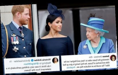 The Queen drops Prince Harry and Meghan Markle's royal titles