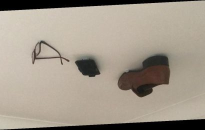 'Pure evil' son glued his dad's things to the ceiling everyday until he noticed
