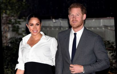 Meghan Markle Makes First Public Appearance Since Announcement To 'Step Back' From Royals