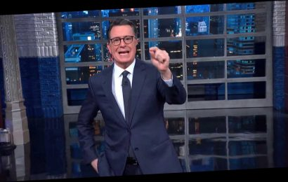 Colbert Drops GIF-Worthy Response To Latest Trump Impeachment Bombshell