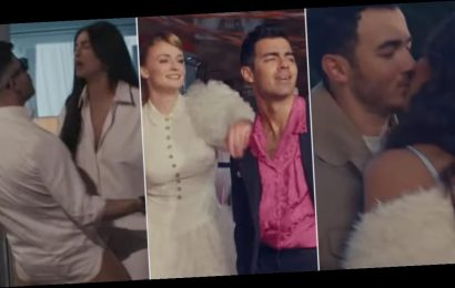 Fans Cannot Get Enough of the Jonas Brothers' Nostalgic New Music Video With Their Wives