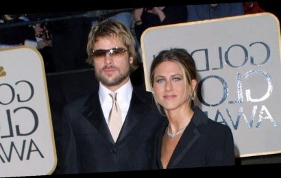 Look Back at Jennifer Aniston and Brad Pitt at the 2002 Golden Globes