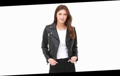 You Can Get This Classic Levi's Moto Jacket Starting at $50!