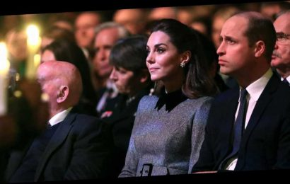Prince William, Duchess Kate Attend Event Honoring Holocaust Survivors