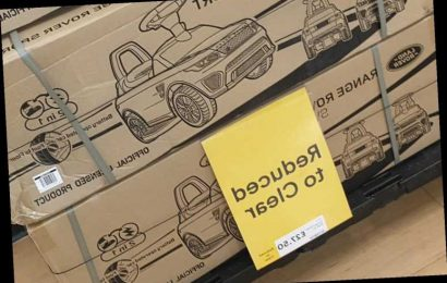 Tesco is selling a toy Range Rover for £27.50 instead of £110