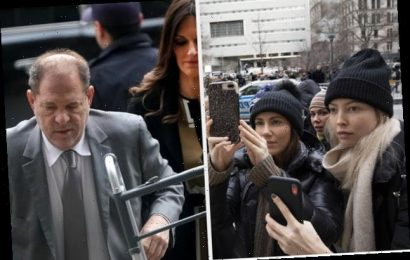 An Angry Judge Threatened To Jail Harvey Weinstein For Using Two Phones In Court