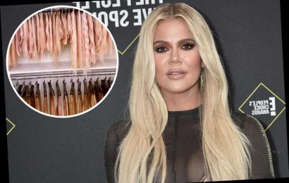 Khloé Kardashian's house has a whole room for her hair extensions
