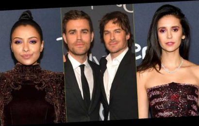 Nina Dobrev & 'Vampire Diaries' Co-Stars Step Out For Golden Globes After Party