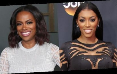 Porsha Williams Slays In Little Black Dress For New Year's Eve With Kandi Burruss & More