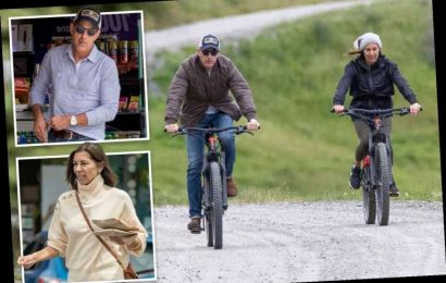 Ex-Today star Matt Lauer and new girlfriend Shamin Abas ride bikes in New Zealand near his $9M estate – The Sun