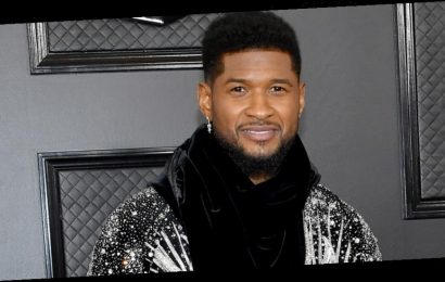 Usher Shows Off Super Studded Jacket at Grammys 2020 Ahead of Prince Tribute