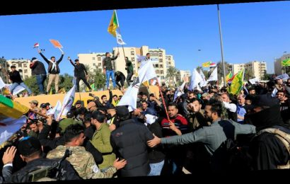 U.S. Embassy in Iraq getting military reinforcements amid violent protests
