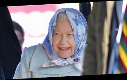 Queen's brave smile as she's seen for first time after new royal drama