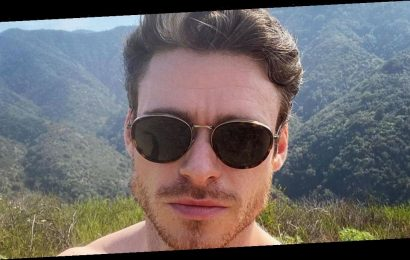 Richard Madden gets fans hot under the collar with shirtless Instagram snap