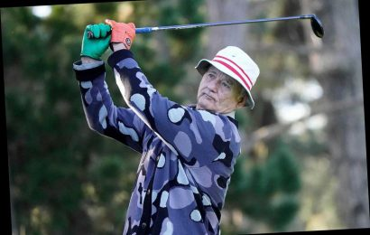 Bill Murray's Golf Stunt At Pebble Beach Pro-Am Is Oscar-Worthy