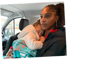 Serena Williams Shares Unfiltered Look At Life As A Working Mom
