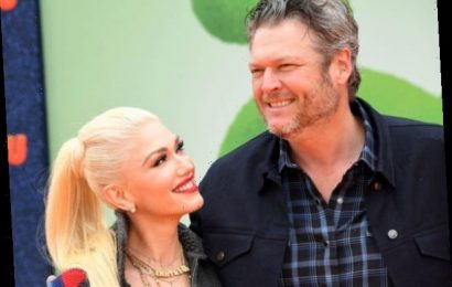 Blake Shelton and Gwen Stefani Take the Whole Family to Kingston's Football Game and Ignore Gavin Rossdale