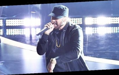 Eminem Finally Performs 'Lose Yourself' At The Oscars 17 Years After Winning For '8 Mile' Anthem