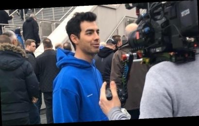 Joe Jonas Enjoys Day Off From Happiness Begins Tour in London