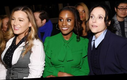 Blake Lively, Issa Rae & Julia Louis-Dreyfus Make The Perfect Trio at Michael Kors NYFW Show!