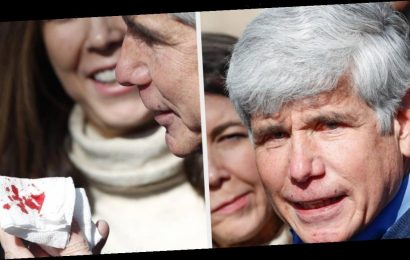 Rod Blagojevich Was Bleeding During His First Press Conference After Trump Freed Him