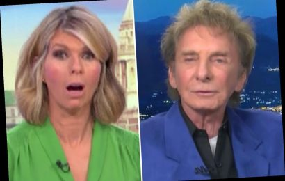 Kate Garraway left shocked after Barry Manilow, 76, makes cheeky sex joke live on Good Morning Britain – The Sun