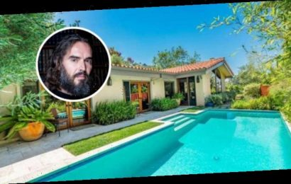 Russell Brand Snags Hacienda-Style Hollywood Hills Hideaway