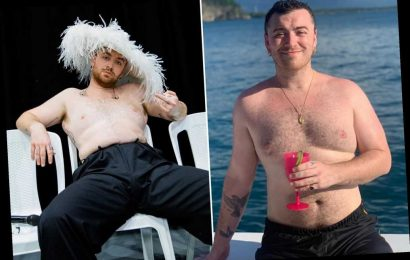 Singer Sam Smith says going topless on social media 'helped me'