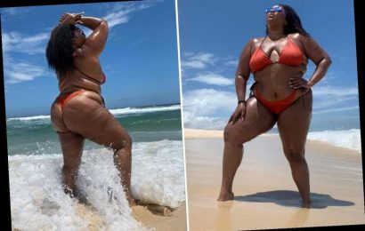 Lizzo bares all in thong bikini on Brazilian girls' getaway – The Sun